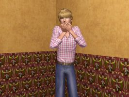 Pewdie's Scared- Sims 3 by missxmello