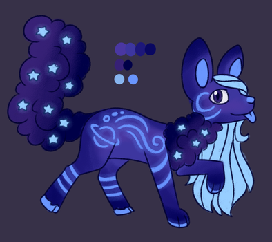Spacey cloudaroo adopt CLOSED by CatbunAdopts