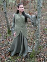 LARP - elven dress by AtelierSonnenschein