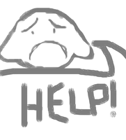 HELP! by AmzyTheChangeling