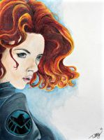 Avengers- Black Widow by GorgeousSoul
