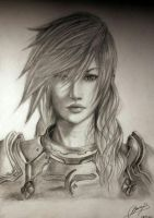 Lightning  Final Fantasy XIII by MargaHeartfilia