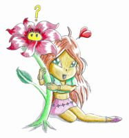 Little Flora and Bloom by Orcone