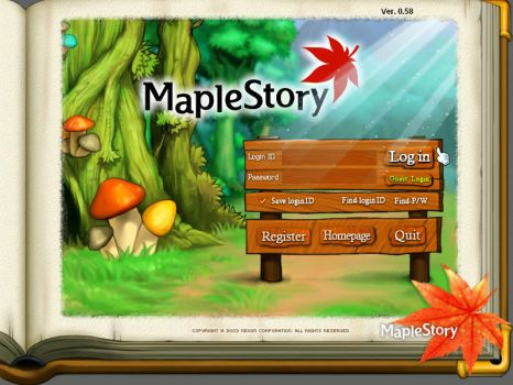 Updated Maple Login by maple-story
