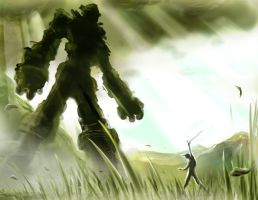 Wander and the Colossus by unleveLedNate