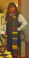 Female 4th Doctor Cosplay by AustrianArtemis