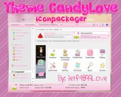 Theme Iconpackager - CandyLove By: ietf4899Love by ietf4899Love