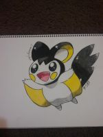 Emolga by ApocalypseKitty