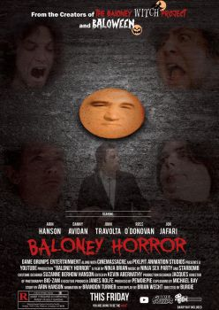 Game Grumps - BALONEY HORROR POSTER by Lucascouto166
