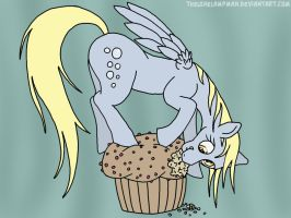 Muffin munchin' by TheLoneLampman