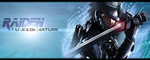 Raiden - Metal Gear Rising: Revengeance SIGN by Silas-Tsunayoshi