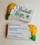 Windmill Heights Business Cards by consine