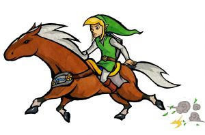 The Green Rider by Skull-the-Kid
