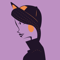 A Lady With A Hat by SketchbookDandy