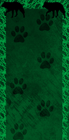 Cat and Wolf Custom Box Background by AriaSnow
