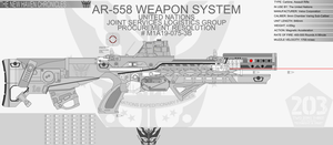 AR-558 Weapon System - Carbine...done...maybe... by Jon-Michael-May