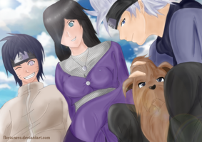 Naruto OCs, Next generation - Colored by Hatake-Flor