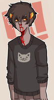 cat sweaters bed heads and bloody noses by internetbills
