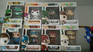 My Funko Pop Collection As Of January 2017 by OtakuDude83