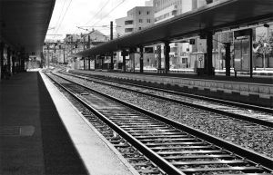 Train Station by Chalow