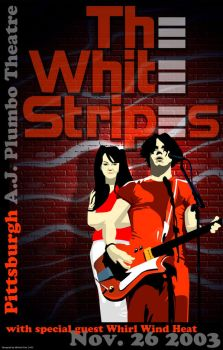 the white stripes by bluehornetdesign