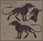 Radalth OC sheet by LiLaiRa