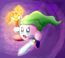 Kirby - Link by FairyJonke