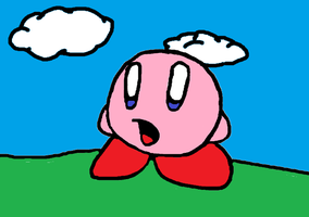 kirby - new look by KingKirbyThe3rd