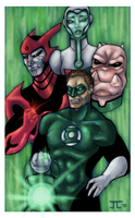 Green Lantern Animated Series by rusting-angel