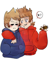Tom and Tord by SkyTheSharkicorn