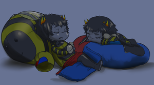 Time for Bed Captors by dontevenknow-anymore