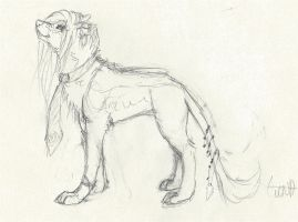 sketch for a future character by lindara