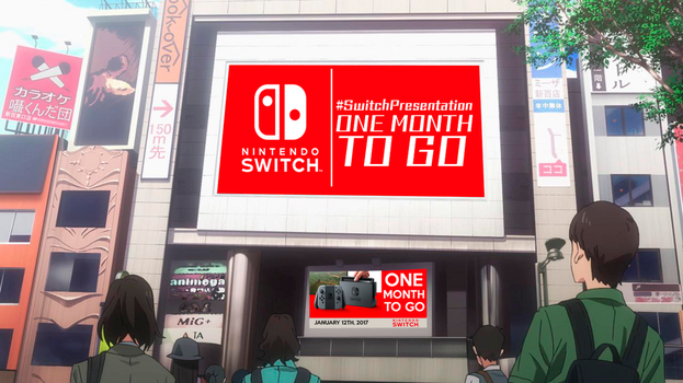 Road to Switch Presentation-One month to go by SonicAlexanderDX97