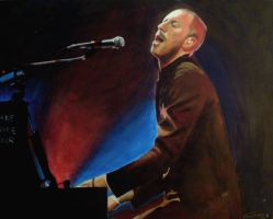 Chris Martin by drawmyface