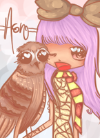 owl by sitsurei