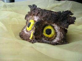 Owl Sculpture by KrazyKell