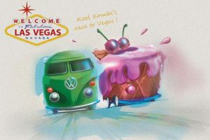 Kool Kombi race to Las Vegas by candyrod