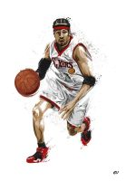 Allen Iverson by earlsonvios