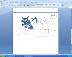I drew this in Microsoft Word2 by Quacksquared