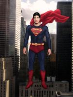 Routh As The Man of Steel by Bunk2