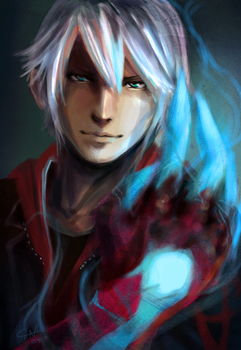Devil May Cry 4 - Nero by Kloku