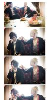 Brothers Conflict - Azusa + Tsubaki II by Intelicca