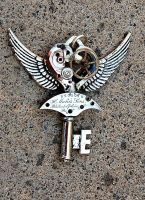 Silver Steampunk Key by Ruger1911