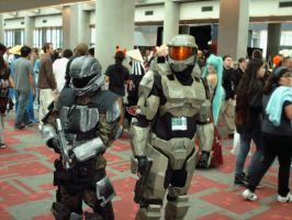 Master Chief and ODST by The-Animeniac