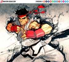 SF4 inside cover contest by sykosan