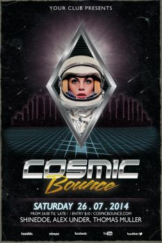 Cosmic Bounce by recklessboy