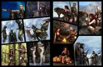 Androssian Prophecy pages 8 and 9 wip by Bad-Dragon