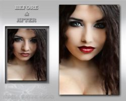 Before and After - Esmeralda 226 by M10tje