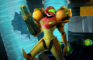 Metroid Prime by Boomsheika