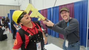 Nostalgia Critic VS RED Engineer by TechieWidget